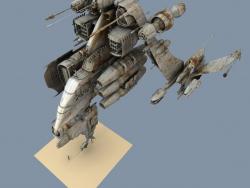 Старый космический корабль