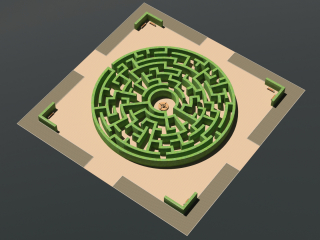 Le labyrinthe est un jardin