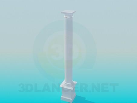 3d модель Колона – превью