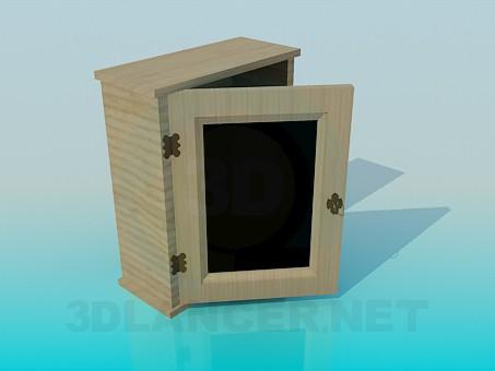 3d модель Навесной шкафчик – превью