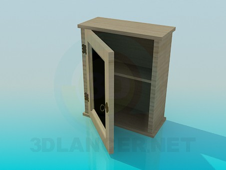 3d model Hinged cupboard - preview