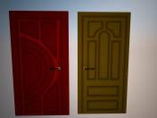 Entrance doors Kommunar