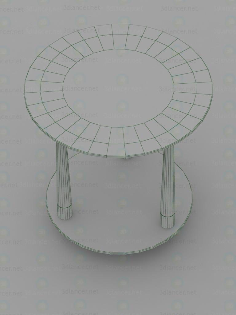3d Стол журнальный, Квартет-13 модель купить - ракурс