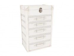 Chest of drawers with 5 drawers Diva Maku UP 5 Drawers
