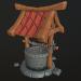 3d Stylized well model buy - render