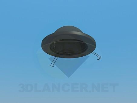 modelo 3D Lámpara halógena - escuchar
