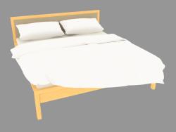 Кровать двуспальная 194х214х95 (7230-06)