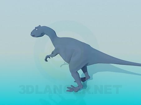 3d модель Динозавр – превью