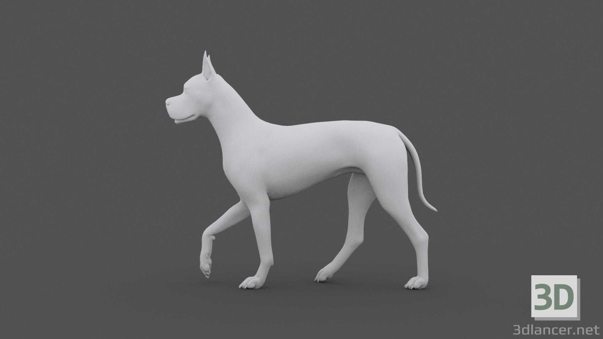 3d FDGD-001 Animation dog model buy - render