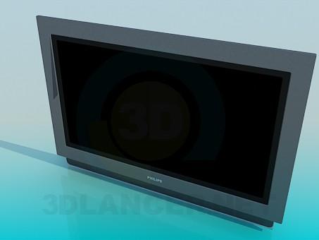 3d модель LCD Philips – превью