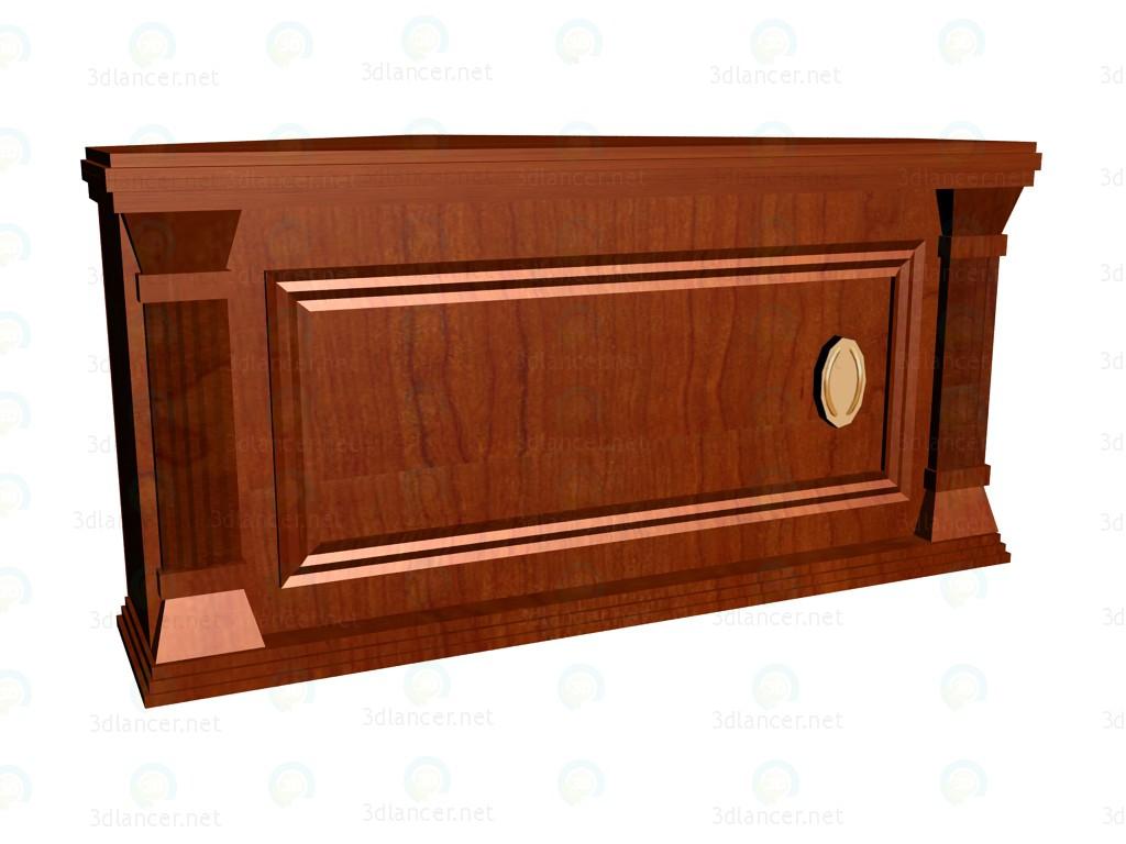 3d model Shelf for shelving corner VOX - preview