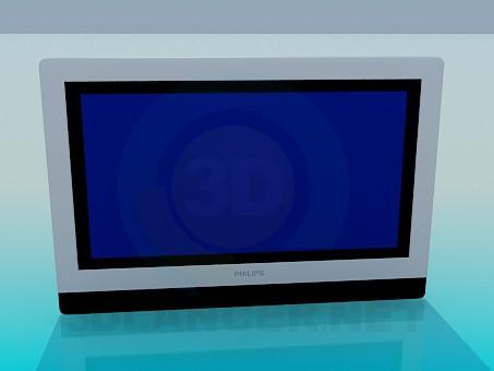 3 डी मॉडल LCD Philips - पूर्वावलोकन