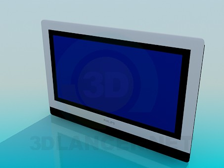 3d model LCD Philips - preview