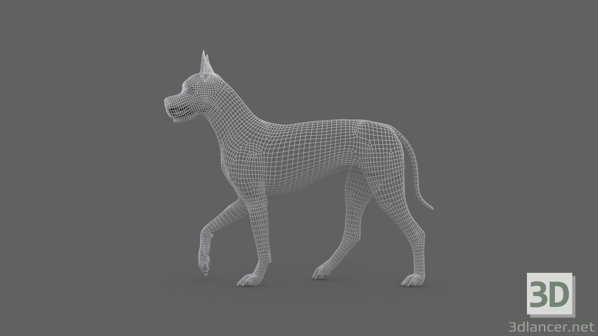 3d FDGD-002 Dog Animation model buy - render