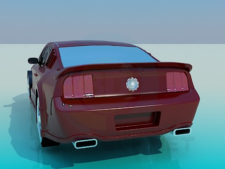3d model Ford Mustang - preview