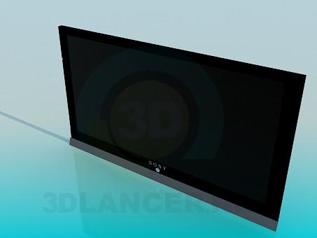 3d модель LCD Sony – превью