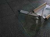 Textura de azulejos em cascata