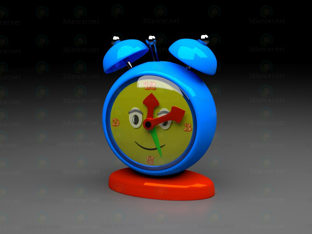 3d model Alarm clock - preview
