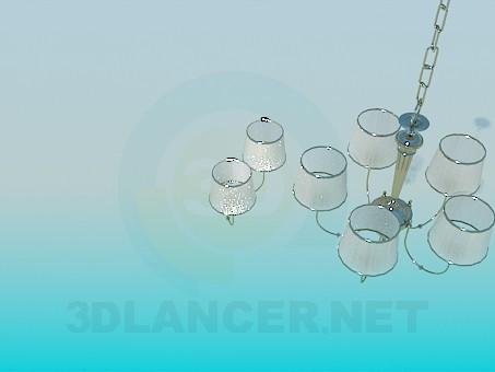 modelo 3D Araña y apliques - escuchar