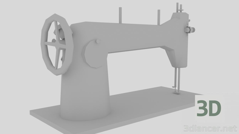 3d Sewing machine model buy - render