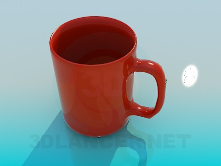3d modeling Cup model free download