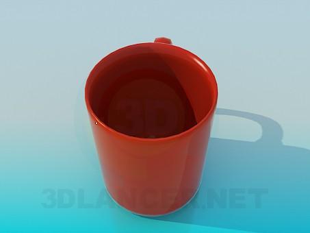 3d модель Чашка – превью