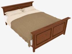 Кровать двуспальная (163х210х80)