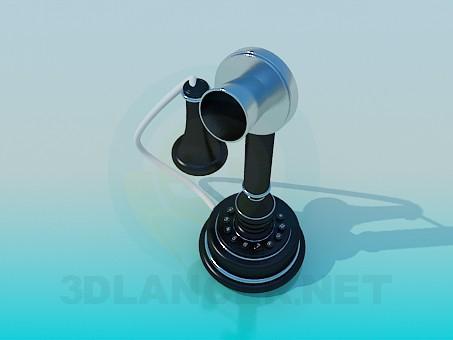 3d модель Телефон под старинку – превью