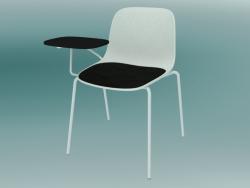Chaise avec table SEELA (S317 avec rembourrage et boiseries)