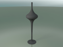 Floor lamp (L, Gray Lacquered)