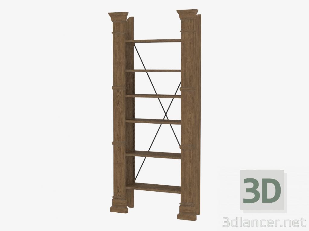 3d Model Rack X CROSS BOOKSHELF 8810000144