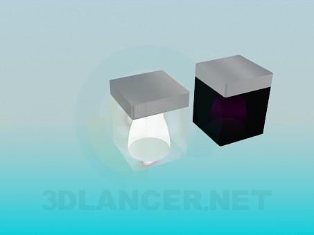 modelo 3D Accesorios de iluminación - escuchar