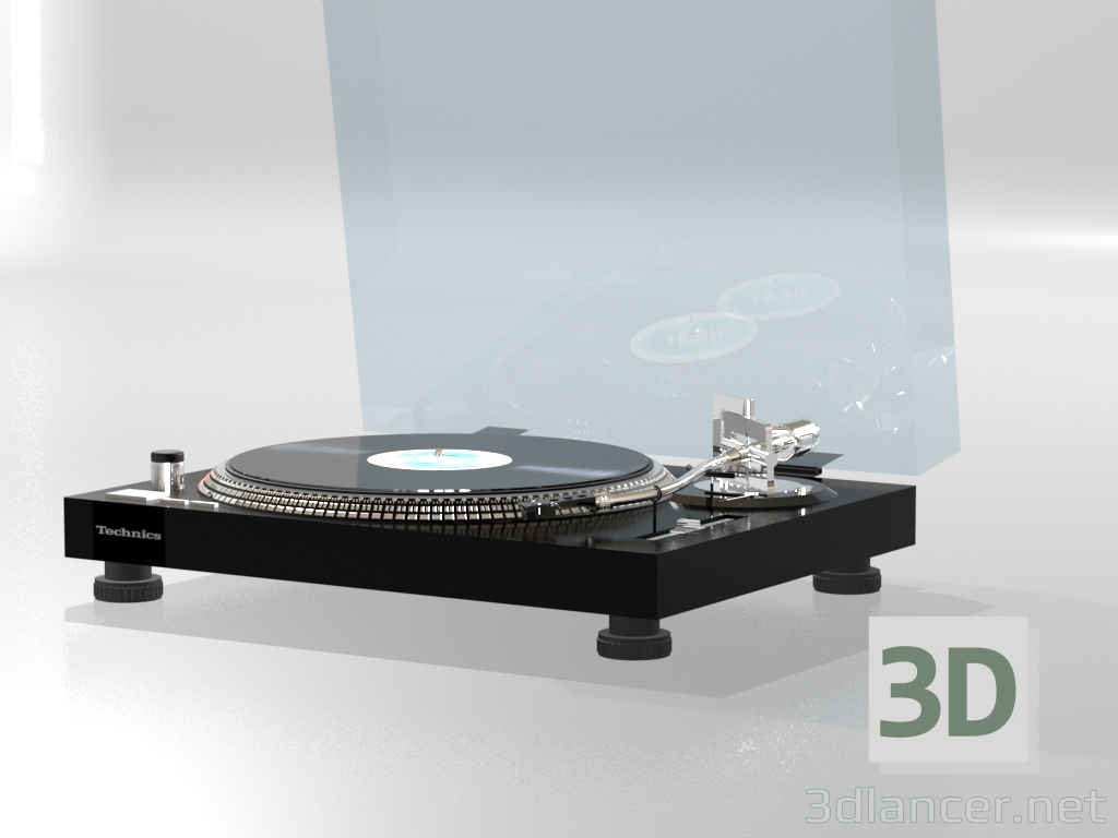 3d model Turntable - preview