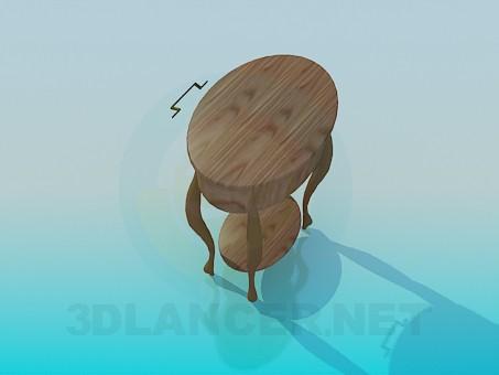 3d модель Туалетний столик – превью