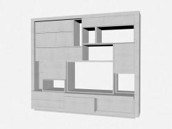 Книжный шкаф Аxor 2