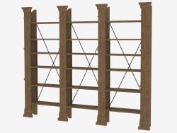 Shelf X-CROSS TRIPLE BOOKSHELF (8810.0001.116)