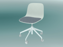 Chair with SEELA castors (S340 with padding)