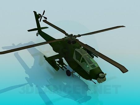 3d моделювання Apache вертоліт модель завантажити безкоштовно