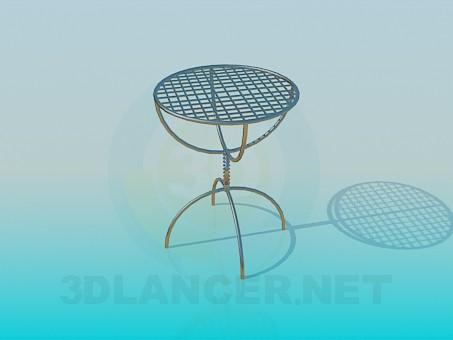 3d моделирование Небольшой столик модель скачать бесплатно