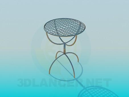 modelo 3D Una pequeña mesa - escuchar