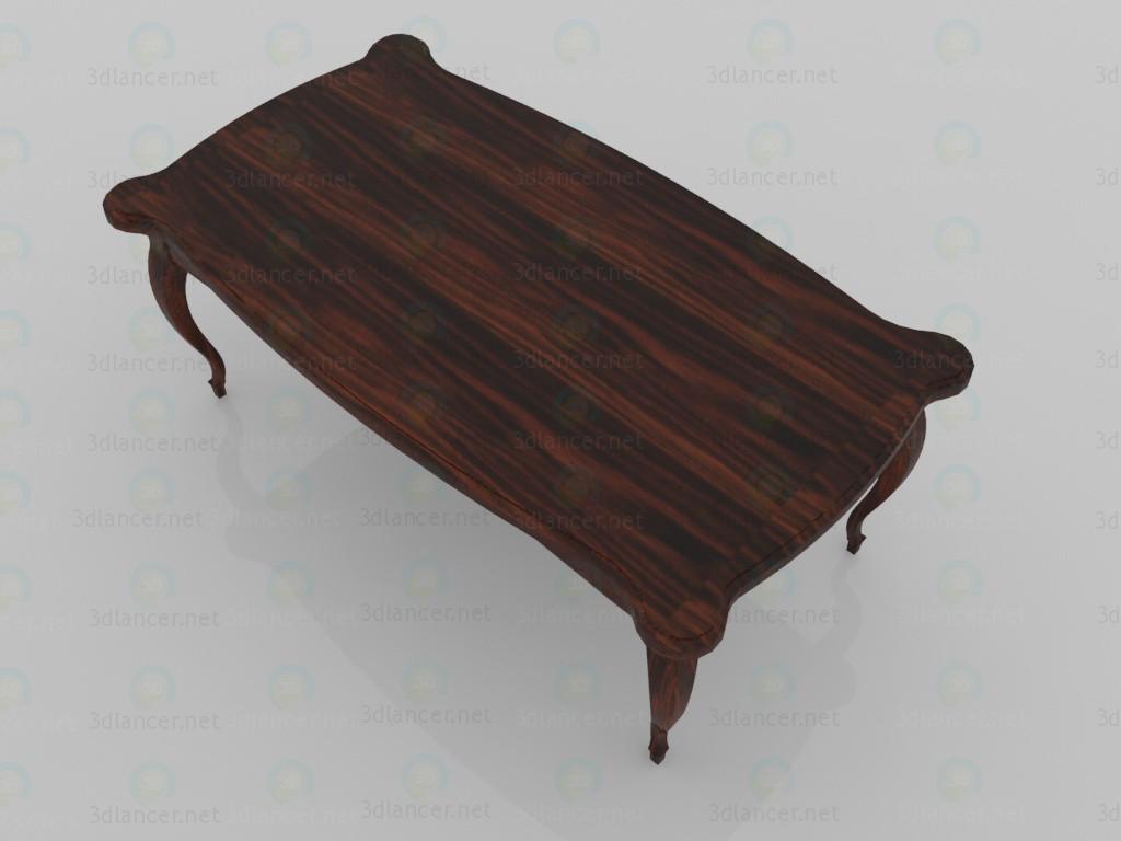 3d Coffee table - Edward model buy - render