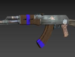 old AK-47