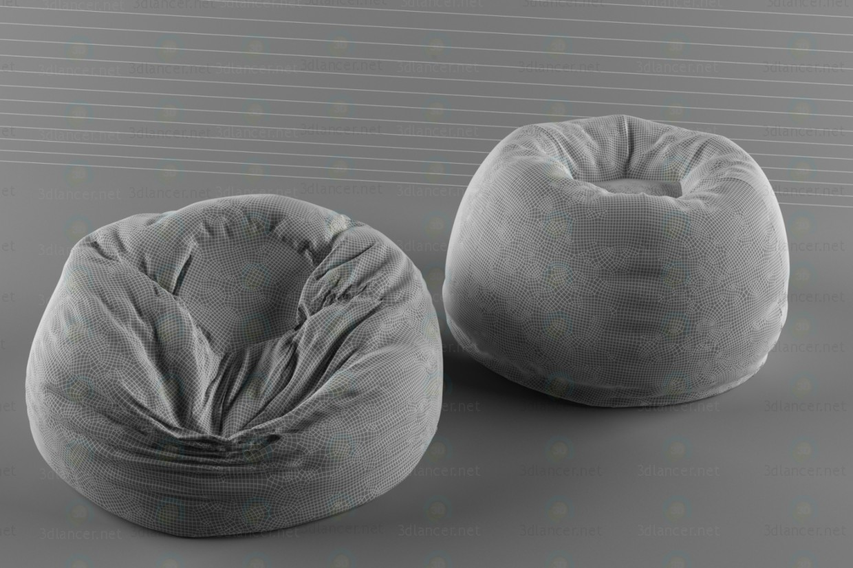 modelo 3D Bolsa de Poof 2 - escuchar