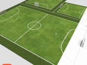 Mini soccer fields