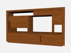 Книжный шкаф Аxor 3