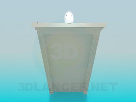 3d модель Элемент декора – превью