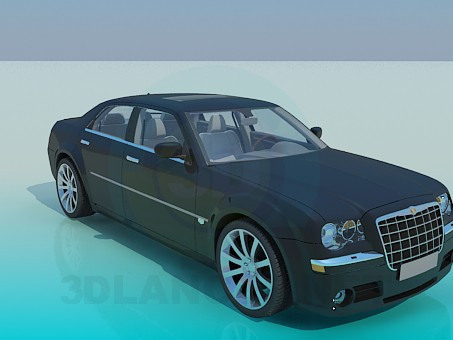 3d modeling Chrysler model free download