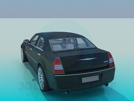 3d model Chrysler - preview
