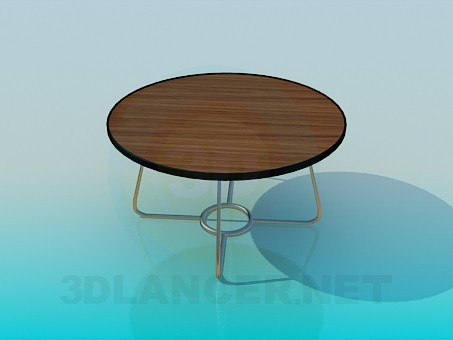 3d modeling Low table model free download