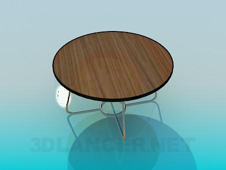 3d модель Низький столик – превью